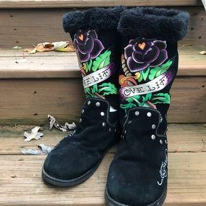 Ed Hardy Boots 9